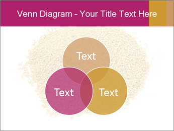A pile of soy lecithin granules PowerPoint Template - Slide 33