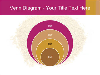 A pile of soy lecithin granules PowerPoint Template - Slide 34