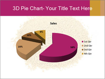 A pile of soy lecithin granules PowerPoint Template - Slide 35