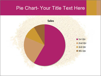 A pile of soy lecithin granules PowerPoint Template - Slide 36