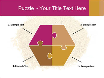 A pile of soy lecithin granules PowerPoint Template - Slide 40