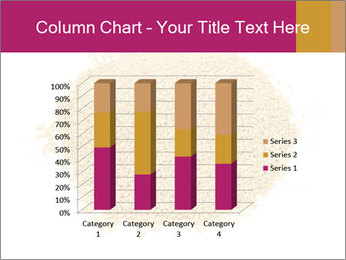 A pile of soy lecithin granules PowerPoint Template - Slide 50