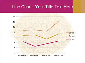 A pile of soy lecithin granules PowerPoint Template - Slide 54