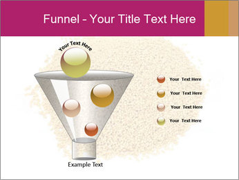 A pile of soy lecithin granules PowerPoint Template - Slide 63