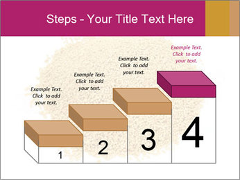 A pile of soy lecithin granules PowerPoint Template - Slide 64