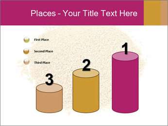 A pile of soy lecithin granules PowerPoint Template - Slide 65