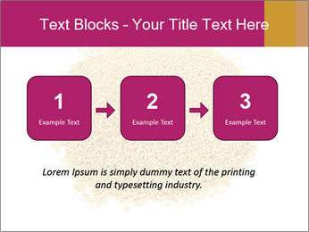 A pile of soy lecithin granules PowerPoint Template - Slide 71