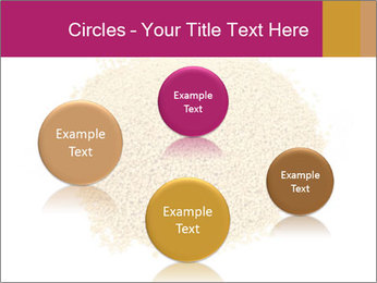 A pile of soy lecithin granules PowerPoint Template - Slide 77