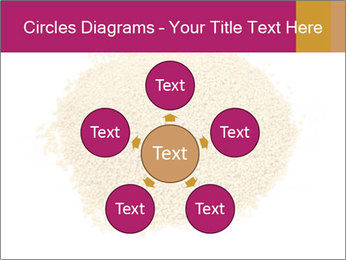 A pile of soy lecithin granules PowerPoint Templates - Slide 78