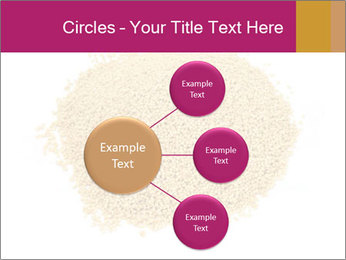 A pile of soy lecithin granules PowerPoint Template - Slide 79