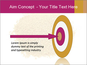 A pile of soy lecithin granules PowerPoint Template - Slide 83