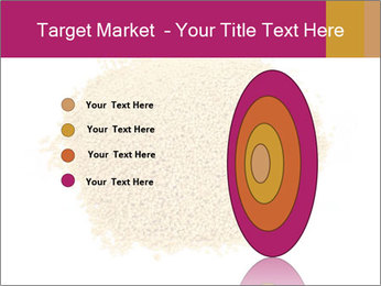 A pile of soy lecithin granules PowerPoint Template - Slide 84