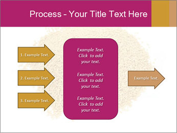 A pile of soy lecithin granules PowerPoint Template - Slide 85
