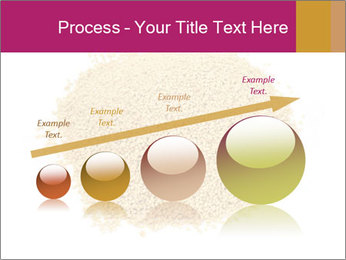 A pile of soy lecithin granules PowerPoint Template - Slide 87