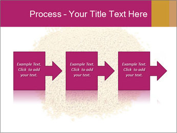 A pile of soy lecithin granules PowerPoint Template - Slide 88