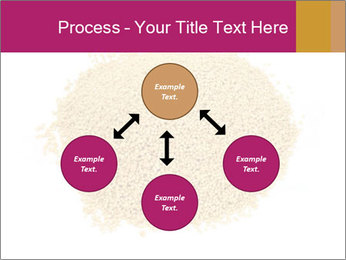 A pile of soy lecithin granules PowerPoint Template - Slide 91
