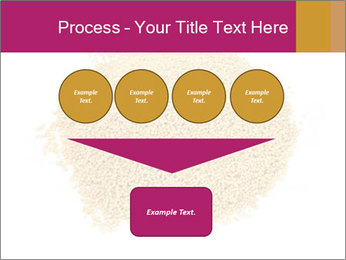 A pile of soy lecithin granules PowerPoint Template - Slide 93