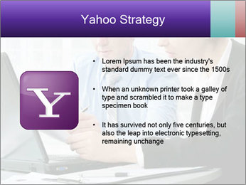 Business people at the office PowerPoint Template - Slide 11