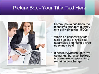 Business people at the office PowerPoint Template - Slide 13
