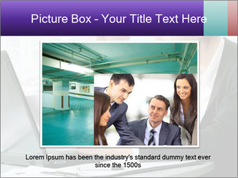Business people at the office PowerPoint Template - Slide 15