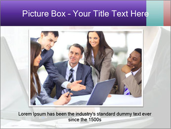 Business people at the office PowerPoint Template - Slide 16