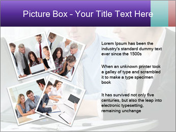 Business people at the office PowerPoint Template - Slide 23