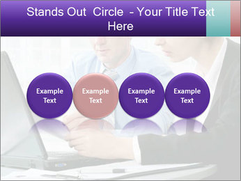 Business people at the office PowerPoint Template - Slide 76