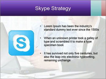 Business people at the office PowerPoint Template - Slide 8