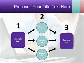 Business people at the office PowerPoint Template - Slide 92