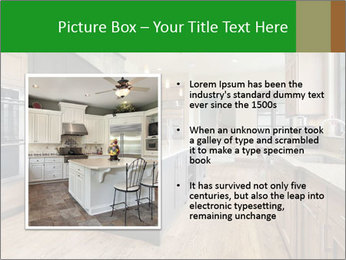 Kitchen in luxury home PowerPoint Templates - Slide 13
