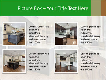 Kitchen in luxury home PowerPoint Templates - Slide 14