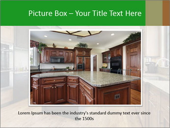 Kitchen in luxury home PowerPoint Templates - Slide 15
