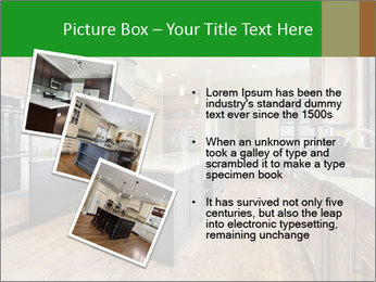 Kitchen in luxury home PowerPoint Templates - Slide 17