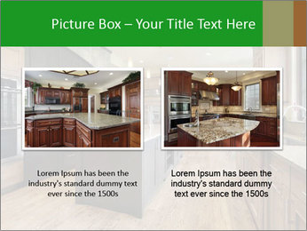 Kitchen in luxury home PowerPoint Template - Slide 18