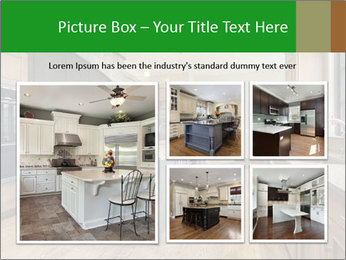 Kitchen in luxury home PowerPoint Template - Slide 19