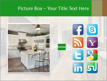 Kitchen in luxury home PowerPoint Template - Slide 21