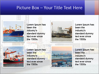 Oil and gas tanker PowerPoint Template - Slide 14