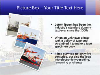 Oil and gas tanker PowerPoint Template - Slide 17