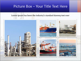 Oil and gas tanker PowerPoint Template - Slide 19