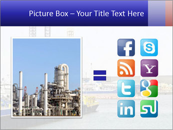 Oil and gas tanker PowerPoint Template - Slide 21