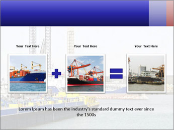 Oil and gas tanker PowerPoint Template - Slide 22