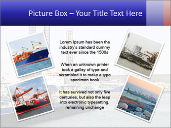Oil and gas tanker PowerPoint Template - Slide 24