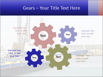 Oil and gas tanker PowerPoint Template - Slide 47
