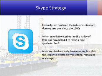 Oil and gas tanker PowerPoint Template - Slide 8