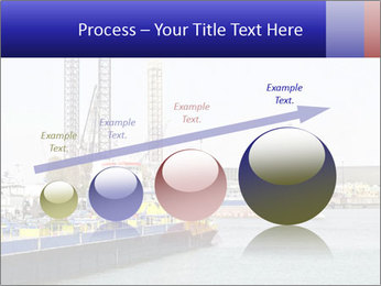 Oil and gas tanker PowerPoint Template - Slide 87
