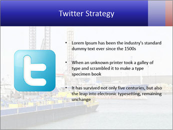 Oil and gas tanker PowerPoint Template - Slide 9