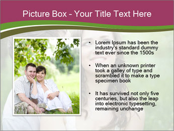 Young couple in love PowerPoint Template - Slide 13