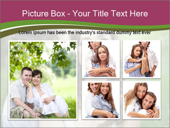 Young couple in love PowerPoint Template - Slide 19
