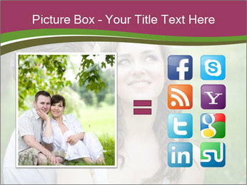 Young couple in love PowerPoint Template - Slide 21