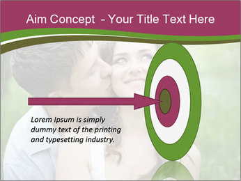 Young couple in love PowerPoint Template - Slide 83